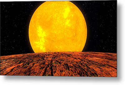 View From Planet Kepler 10b Metal Print by Movie Poster Prints