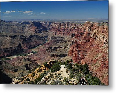View Of Colorado River At Grand Canyon Metal Print by Robert  Moss