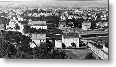 Metal Print featuring the photograph View Of Dresden Germany 1903 Vintage Photograph by A Gurmankin