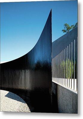 View Of Surrounding Wall Metal Print