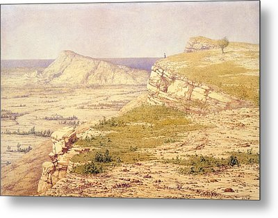 View Of The Island Of Rhodes Metal Print