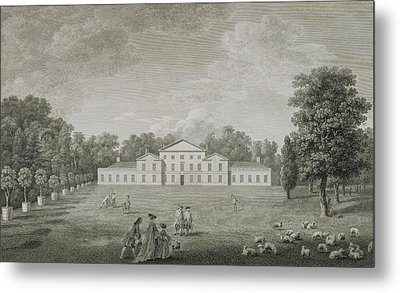 View Of The Palace At Kew Metal Print by John Joshua Kirby