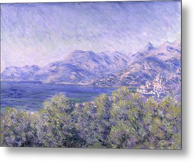 View Of Ventimiglia, 1884 Metal Print by Claude Monet