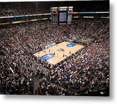 Villanova Wildcats The Pavilion Metal Print by Replay Photos