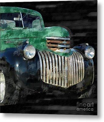 Vintage Chevrolet Pickup 1 Metal Print by Betty LaRue