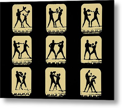 Vintage - How To Box Metal Print by Bill Cannon