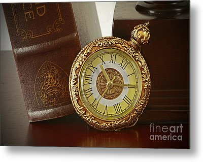 Vintage Moments In Time Metal Print by Inspired Nature Photography Fine Art Photography