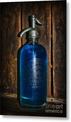 Vintage Seltzer Bottle  Metal Print