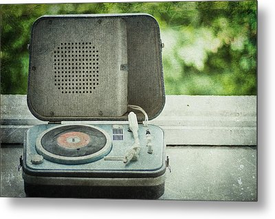 Vintage Sounds Metal Print by Georgia Fowler