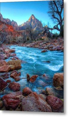 Virgin River Before The Watchman Metal Print by Laura Palmer