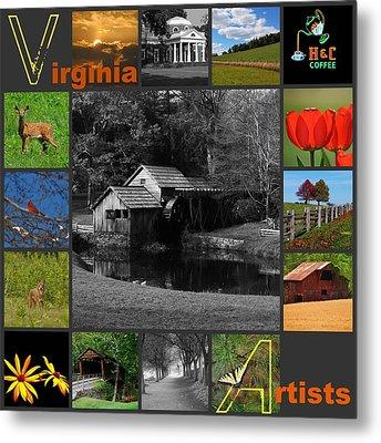 Virginia Artist  Metal Print by Eric Liller