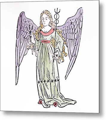 Virgo An Illustration From The Poeticon Metal Print by Italian School
