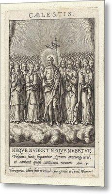 Virtue Of Heaven, Hieronymus Wierix Metal Print