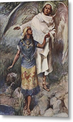 Visitation Metal Print by William Sewell