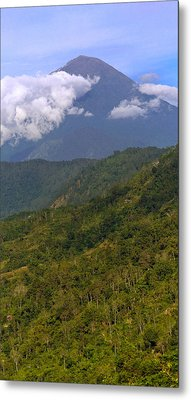 Metal Print featuring the photograph Volcano - Bali by Matthew Onheiber
