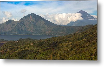 Metal Print featuring the photograph Volcanoes - Bali by Matthew Onheiber