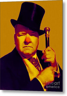 W C Fields 20130217p80 Metal Print by Wingsdomain Art and Photography