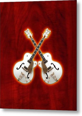 Waite Gretsch Metal Print by Doron Mafdoos