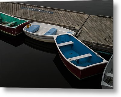 Waiting For Duty Metal Print by Jeff Folger