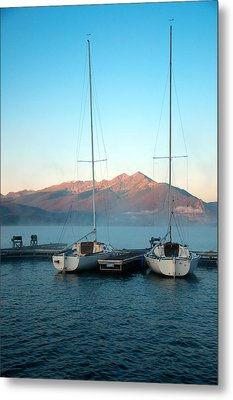 Waiting To Sail  Metal Print