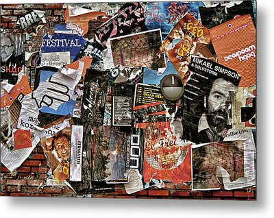 Wall Of Babel Metal Print by Odd Jeppesen