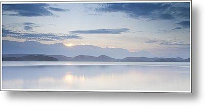 Wallis Lake Sunset Metal Print by Steve Caldwell