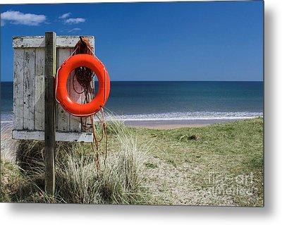Warkworth Beach Northumberland Coast Metal Print