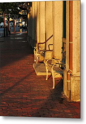 Metal Print featuring the photograph Warm Granite by Paul Noble