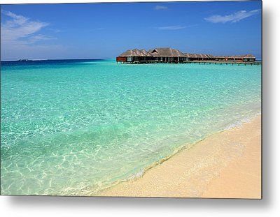 Warm Welcoming. Maldives Metal Print