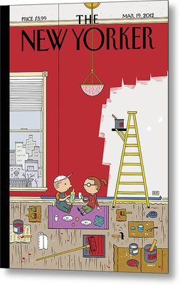 Warmth Metal Print by Ivan Brunetti