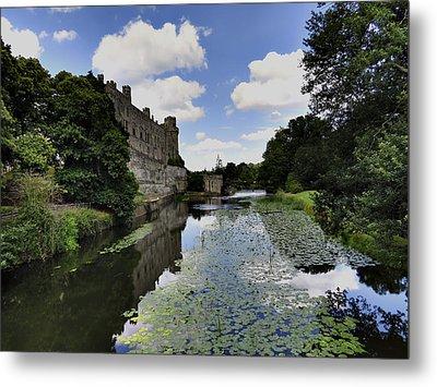 Warwick Castle Metal Print by Ron Grafe