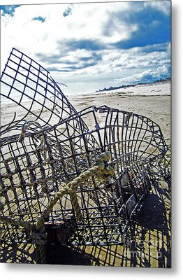 Washed Up Metal Print by Alison Tomich