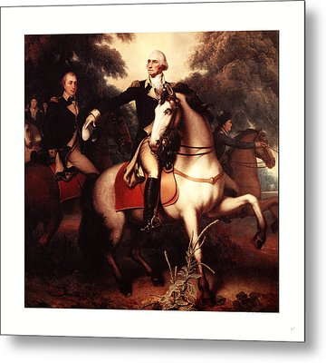 Washington Before Yorktown, By Peale, Rembrandt Metal Print
