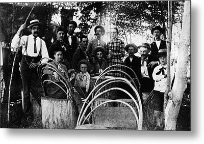 Washington Pioneers, C1900 Metal Print by Granger