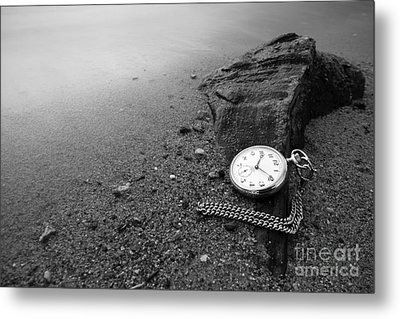 Wasted Time Metal Print