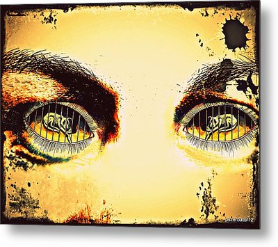 Watch With Indifference Metal Print by Paulo Zerbato