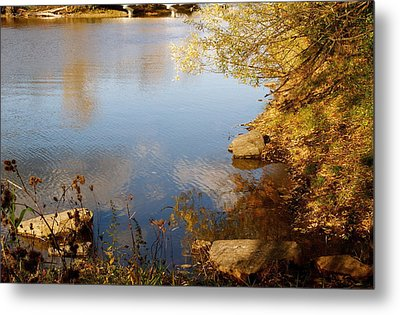 Water Beauty Metal Print by Jocelyne Choquette