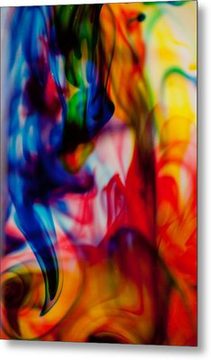Water Colour Metal Print