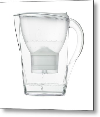 Water Filter Jug Metal Print by Science Photo Library