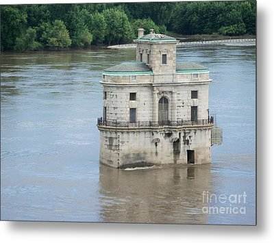 Water House Metal Print by Kelly Awad