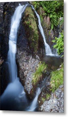 Waterfall Glen Etive Metal Print