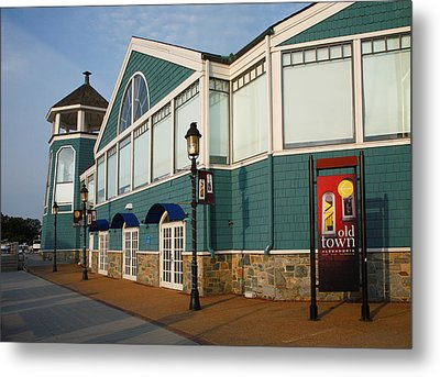 Waterfront Restaurant V Metal Print by Steven Ainsworth