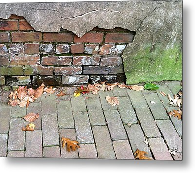 Metal Print featuring the photograph Weathered Abstract by Geri Glavis