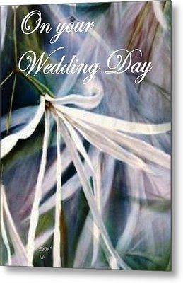 Wedding Flower Metal Print