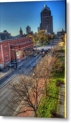 Welcome To Rochester Metal Print