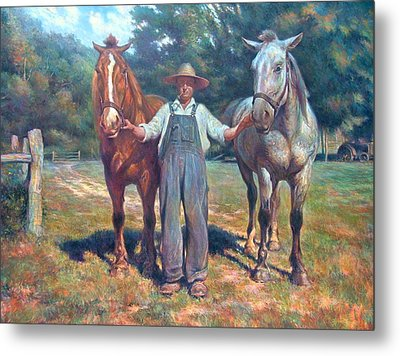 Wendell's King And Tone Metal Print by D Brent Burkett