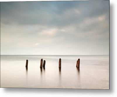 West Coast Seascape Metal Print