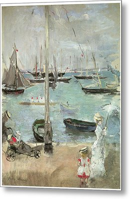 West Cowes Isle Of Wight Metal Print by Berthe Morisot
