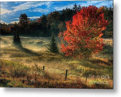 West Virginia Fall Sunrise I Metal Print
