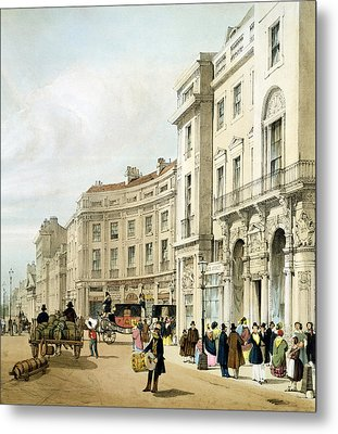 Western Side Of John Nashs Extended Metal Print by Thomas Shotter Boys